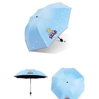 折りたたみ傘 雨傘 日傘 UVカット 遮光 遮熱 晴雨兼用 1本(傘)
