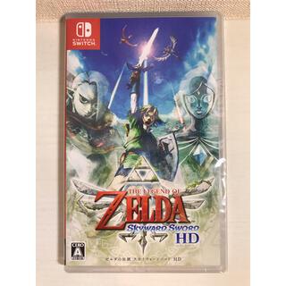 ニンテンドースイッチ(Nintendo Switch)の【新品未使用】 ゼルダの伝説 スカイウォードソード HD switch(家庭用ゲームソフト)