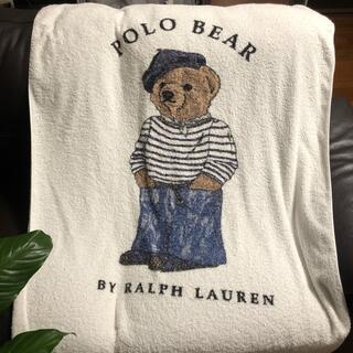 POLO RALPH LAUREN - ラルフローレン タオルケット 中