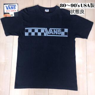 VANS - VANS バンズ Tシャツ チェッカーフラッグ NATIVE AMERICAN