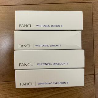ファンケル(FANCL)のファンケル ホワイトニング 化粧液&乳液   セット(化粧水/ローション)