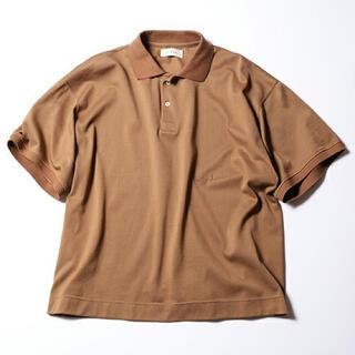 ジエダ(Jieda)のJieDa PIQUE POLO SHIRT BROWN 1(ポロシャツ)