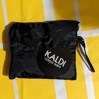 KALDI - 【新品】カルディ エコバッグ ブラック