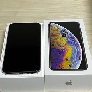 アイフォーン(iPhone)のiPhone XS 64GB silver SIMフリー(スマートフォン本体)