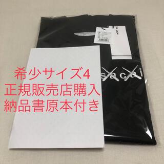 sacai - 正規品 sacai kaws Tシャツ サカイ カウズ サイズ4