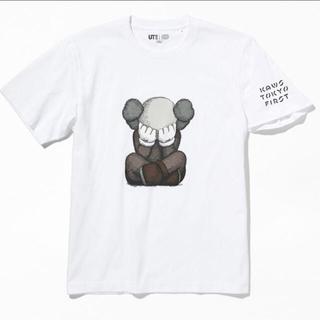 メディコムトイ(MEDICOM TOY)のKAWS TOKYO FIRST限定 ユニクロ XL WHITE(Tシャツ/カットソー(半袖/袖なし))