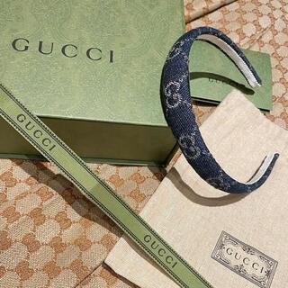 グッチ(Gucci)のGUCCIデニムカチューシャ(カチューシャ)