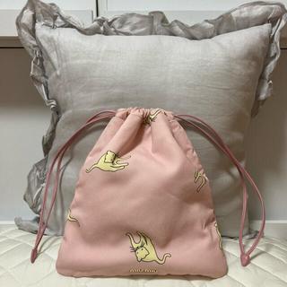 miumiu - miumiu ねこ柄 巾着バッグ