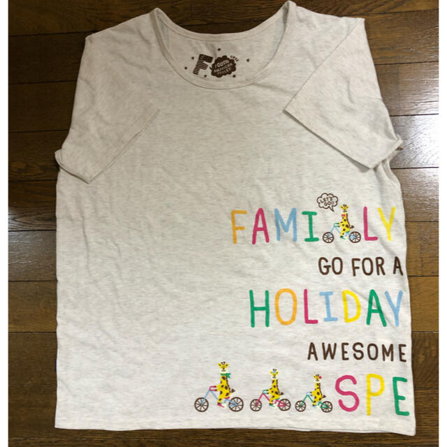 rough(ラフ)のrough🌟きりんさん🦒Tシャツ レディースのトップス(Tシャツ(半袖/袖なし))の商品写真