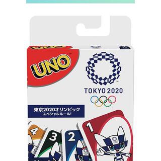 UNOウノ 東京2020オリンピック 【スペシャルルールカード ミライトワ付き】(トランプ/UNO)