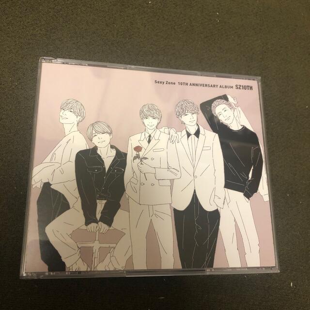 Sexy Zone(セクシー ゾーン)のSZ10TH 期間限定版 エンタメ/ホビーのCD(ポップス/ロック(邦楽))の商品写真