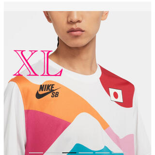 NIKE - 日本代表 スケートボード 堀米選手着用 ユニフォーム XL