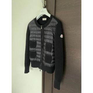 モンクレール❤️モンクレールジャパン製❤️ニットダウン2019年購入⭐️S艶消黒