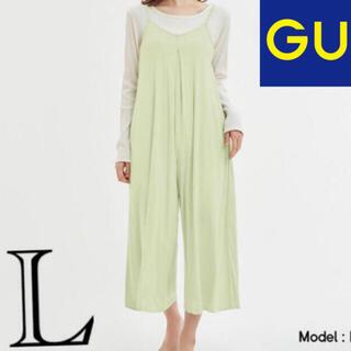 GU - L 新品 GU x Sabon アロエジャンプスーツ ルームウェア パジャマ