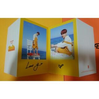 防弾少年団(BTS) - butter ジミン RM メッセージカード