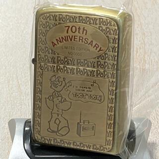 ZIPPO ポパイ 2003年製 ゴールド