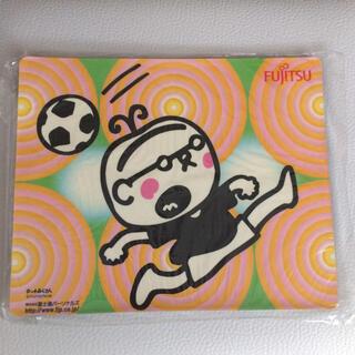 富士通 - マウスパッド サッカー タッチおじさん