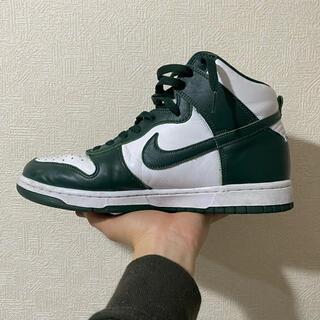 NIKE - NIKE dunk high green 28