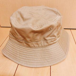 ジーユー(GU)の【美品】GU 帽子 バケットハット サファリハット(ハット)