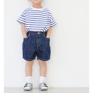 LOWRYS FARM - 【新品未使用】LOWRYS FARM キッズ デニム パンツ 韓国子供服