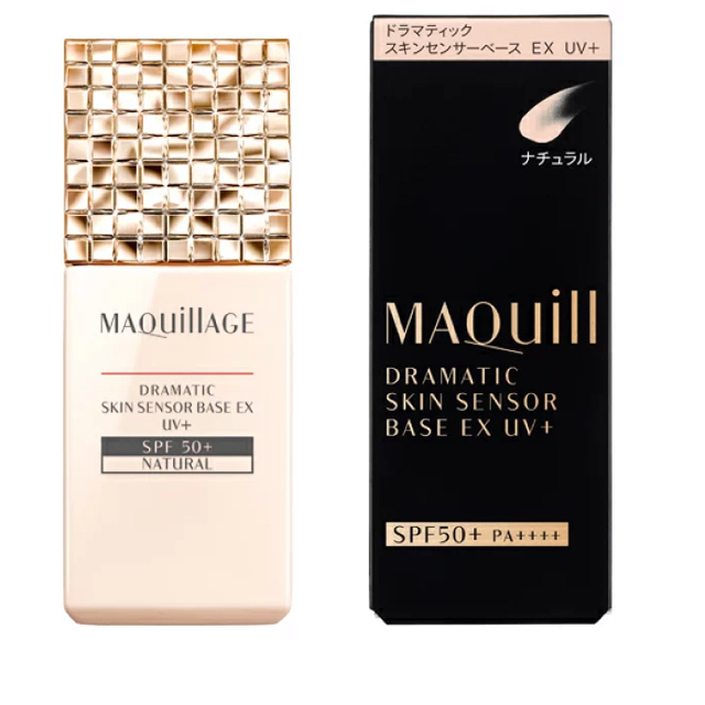 MAQuillAGE(マキアージュ)の資生堂 マキアージュ ドラマティックスキンセンサーベース EX UV+ ナチュラ コスメ/美容のベースメイク/化粧品(化粧下地)の商品写真