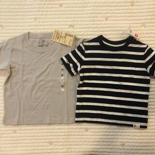 ムジルシリョウヒン(MUJI (無印良品))の90センチ Tシャツ(Tシャツ/カットソー)