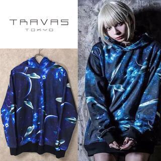 ミルクボーイ(MILKBOY)のTRAVAS TOKYO トラヴァストーキョー 総柄宇宙 パーカー(パーカー)