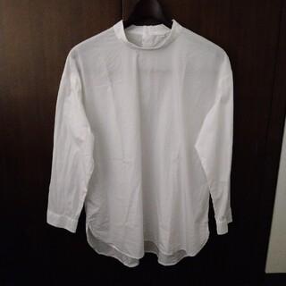 MUJI (無印良品) - 無印良品 スタンドネックシャツ