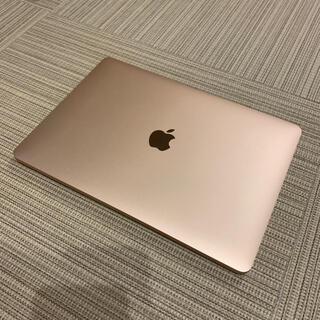 Apple - Macbook Air 2018 gold 13.3インチ 充放電11回