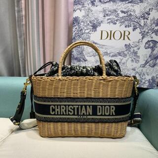 Christian Dior - クリスチャンディオール ウィロー※籠バッグ