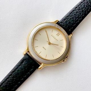 セイコー(SEIKO)のSEIKO  LUCENT レディースクォーツ腕時計 稼動品 ベルト未使用(腕時計)
