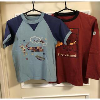 フェリシモ(FELISSIMO)のフェリシモ Tシャツ 半袖 長袖 セット 子供服 古着(Tシャツ/カットソー)