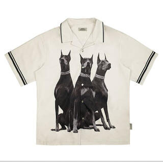 COMME des GARCONS - EMPTY REFERENCE ドーベルマン オープンカラーシャツ