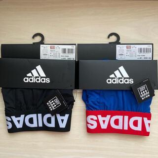 adidas - 150㎝ アディダス adidas キッズ ボクサーパンツ  2枚セット