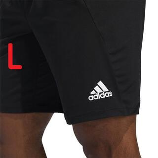 adidas - 新品未使用 L ホワイトロゴ アディダス ハーフパンツ