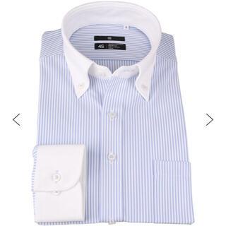 THE SUIT COMPANY - スーツセレクト  クレリックボタンダウンシャツ SUPER NON IRON
