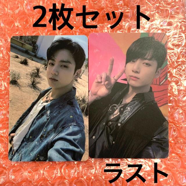 防弾少年団(BTS)(ボウダンショウネンダン)のBTS  BUTTER  ラキドロ サウンドウェーブ M2U  グク 2枚セット エンタメ/ホビーのCD(K-POP/アジア)の商品写真