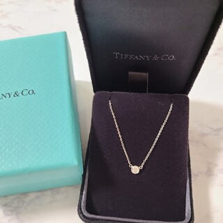 Tiffany & Co. - 美品★磨き済み★TIFFANY ティファニー バイザヤード ネックレス PT