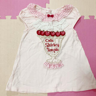 Shirley Temple - シャーリーテンプル  チュニック チェリー さくらんぼ