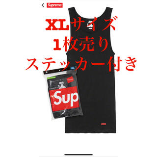 Supreme - supreme hanes tagless tank tops ステッカー付き