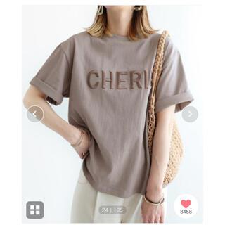 ZARA - reca     立体ロゴ刺繍Tシャツ