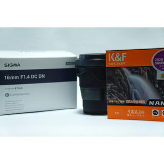 SIGMA - シグマ ソニーE用 16mm F1.4 DC DN