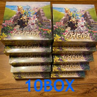 ポケモン(ポケモン)の新品未開封 イーブイヒーローズ 強化拡張パック 10BOX (Box/デッキ/パック)