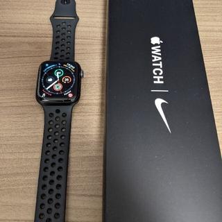 Apple Watch - 【美品】Apple Watch SE 44mm NIKE+ ブラック