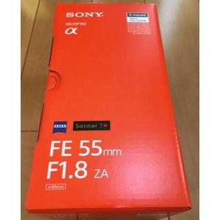 SONY - 未使用 SONY Sonnar T* FE 55mm F1.8 ZA