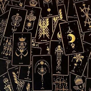 【日本未発売】SOUL CARDS TAROT (BLACK)(その他)