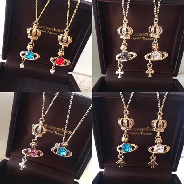 Vivienne Westwood(ヴィヴィアンウエストウッド)のゲリラSALE✴︎king&prince necklace2点ペア✴︎コメ下さい レディースのアクセサリー(ネックレス)の商品写真