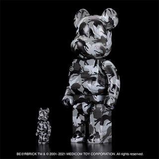 MEDICOM TOY - BE@RBRICK 石川真澄「猫しぐさ名採模様」 100% & 400%