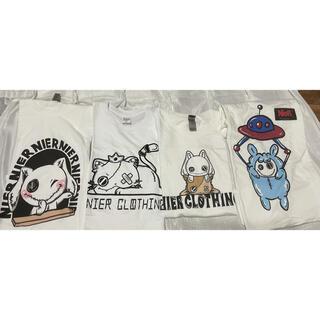 NieR 非売品 白Tシャツ4枚と小物1点セット