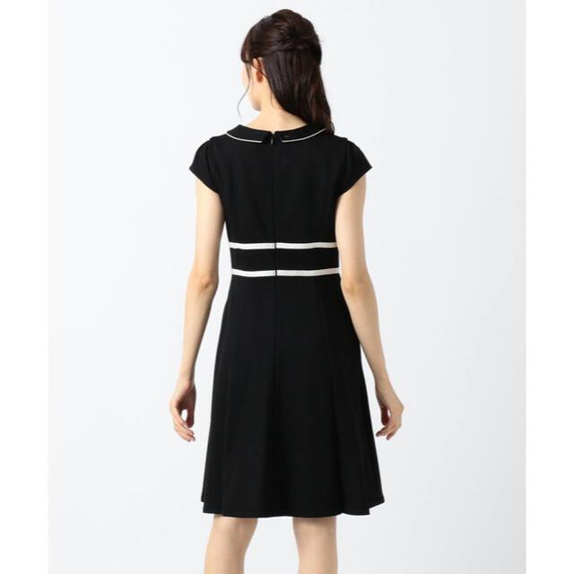 TOCCA(トッカ)のTOCCA トッカ 洗える LUMINOUS ドレス ワンピース 黒 レディースのワンピース(ひざ丈ワンピース)の商品写真